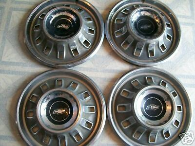 Old Chevy Truck >> Old 1967 Chevy Hubcaps/ Set of 4   eBay