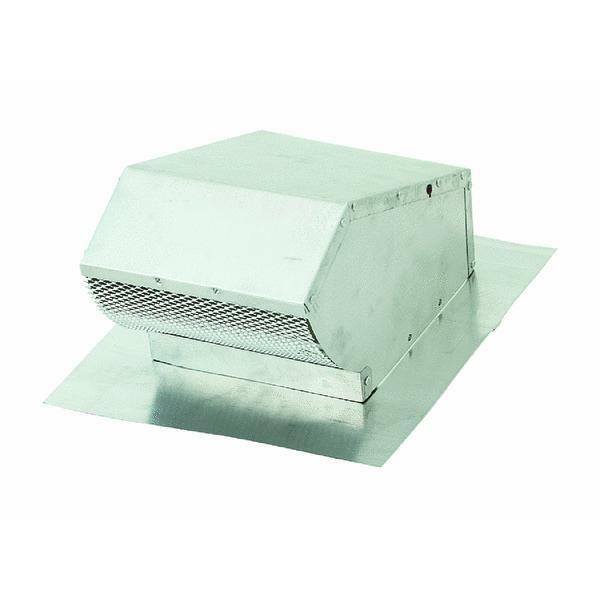 7 Quot Roof Vent Cap With Damper And Screen Ebay