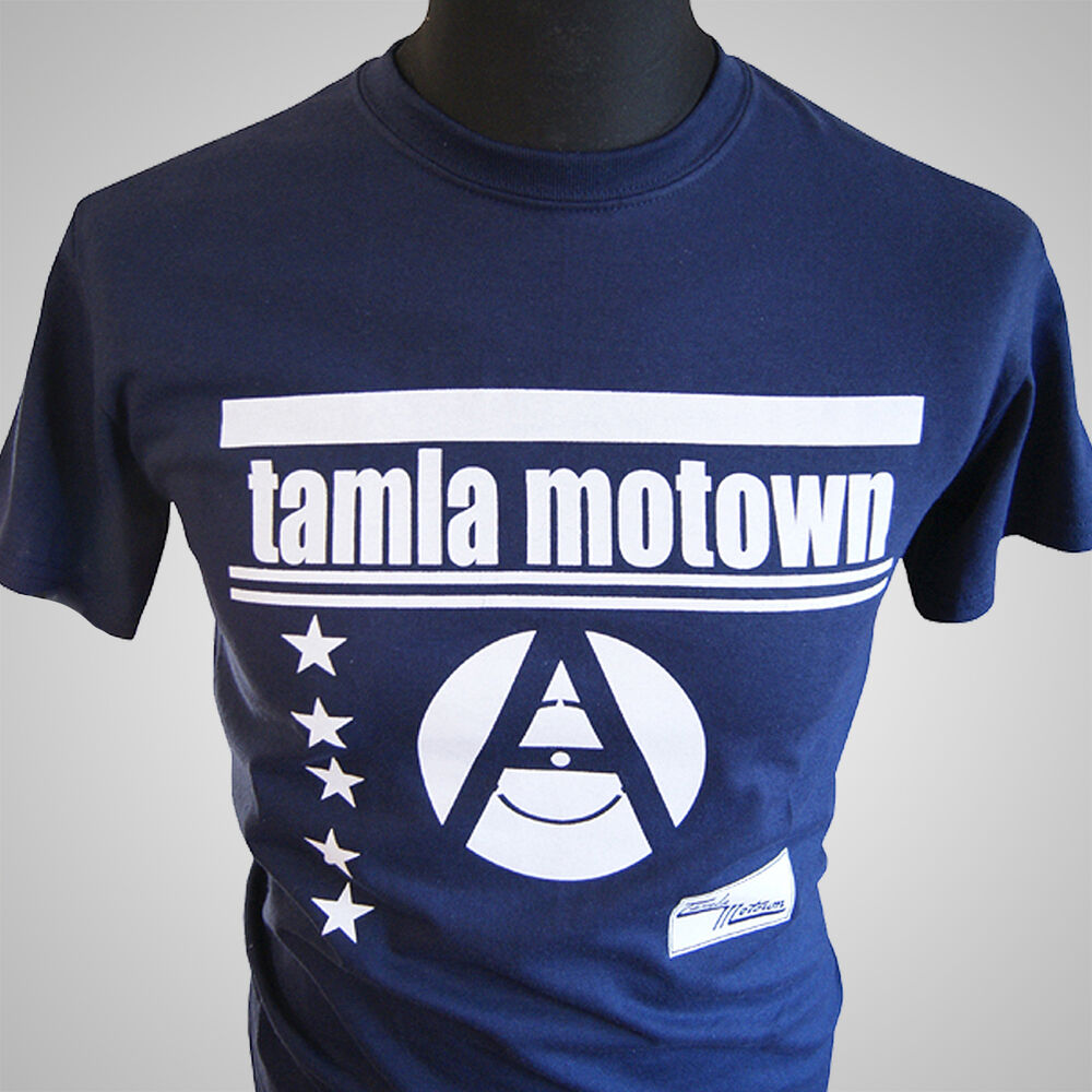 Tamla motown retro music t shirt vintage hipster cool for Vintage record company t shirts
