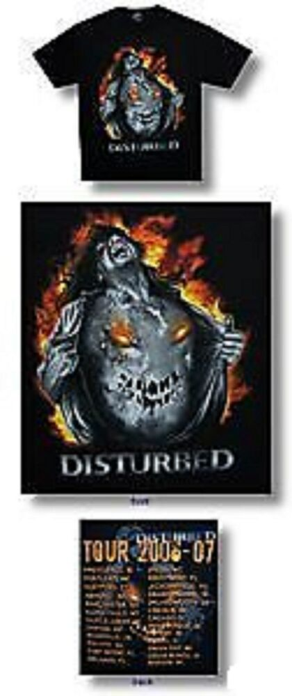 Disturbed Tour History