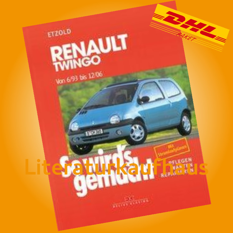 renault twingo 1993 2006 reparaturanleitung so wirds. Black Bedroom Furniture Sets. Home Design Ideas