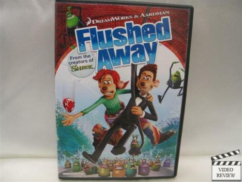 Flushed Away * DVD * WS * Hugh Jackman, Kate Winslet ... | 500 x 375 jpeg 26kB