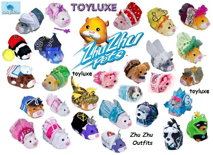 Zhu Zhu Pets Hamster Stylin Outfit Costume Clothes