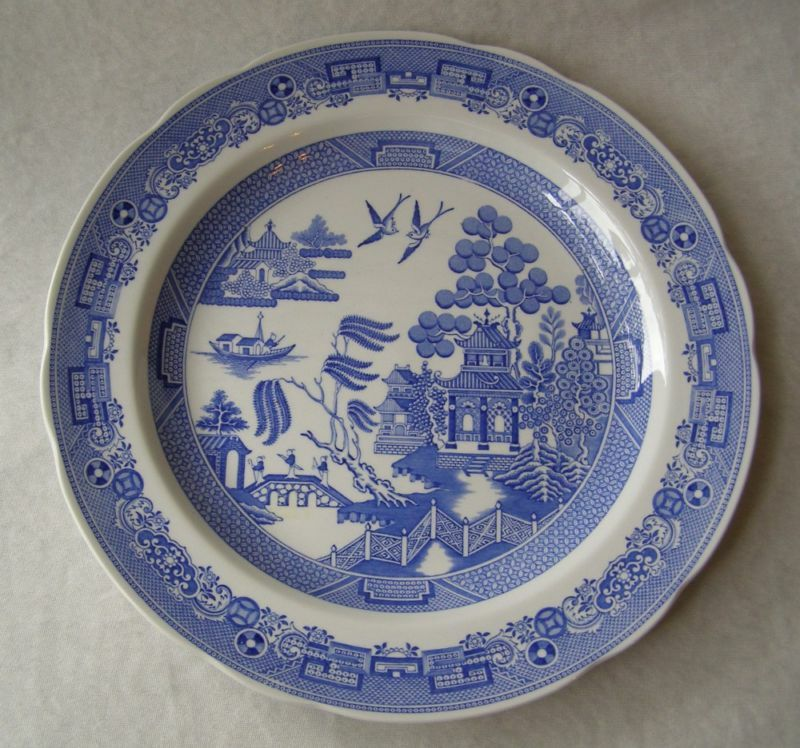 Spode Blue Room Willow