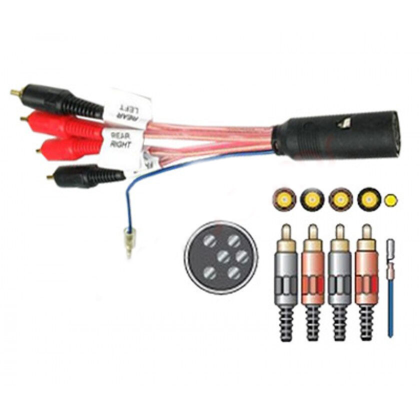 Amplified Wiring Harness Adaptor For Volvo C70  S40