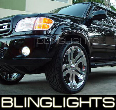2001 2007 Toyota Sequoia Halo Fog Lamps 02 04 05 Lights Ebay