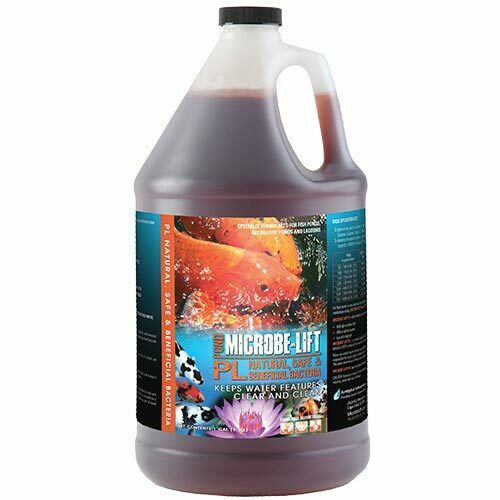 Microbe lift pl 1 gallon pond clarifier 10plg4 ebay for Airlift koi pond