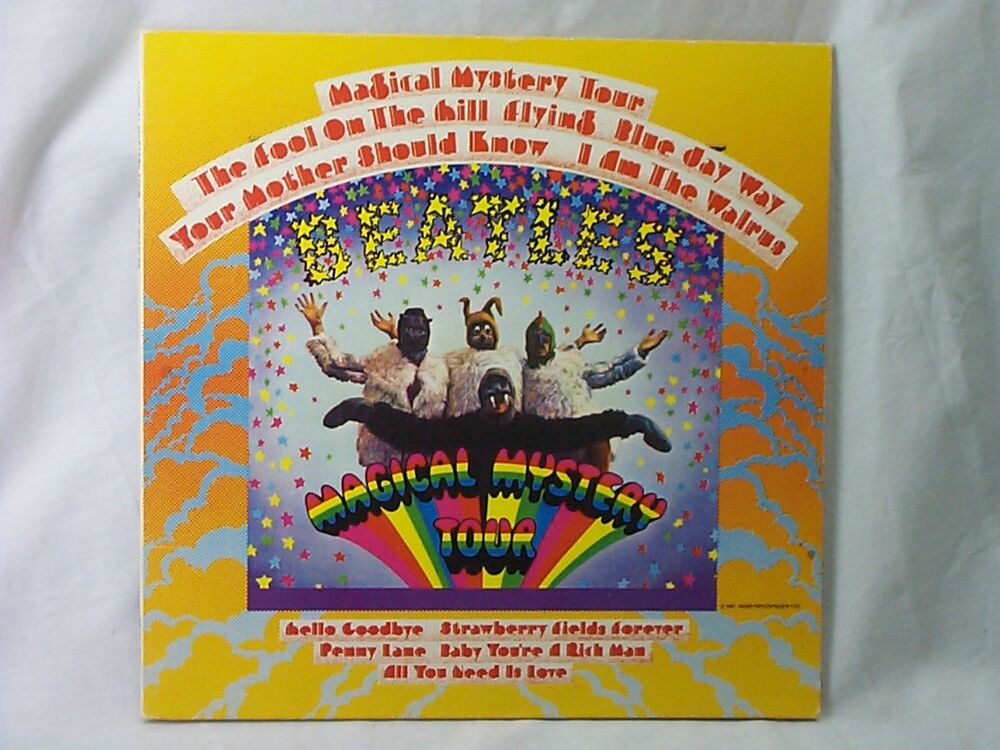 Magical Mystery Tour Vinyl Reissue