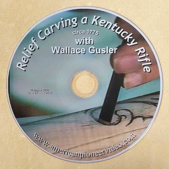 Relief carving a kentucky rifle dvd gun building rifles ebay