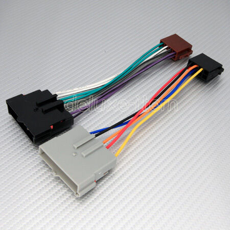 ford car stereo iso wiring harness connector adapter ebay. Black Bedroom Furniture Sets. Home Design Ideas