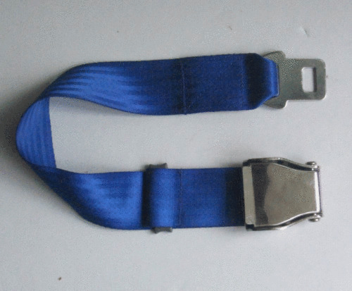 Airplane Airline Seat Belt Extension Extender In Blue 7