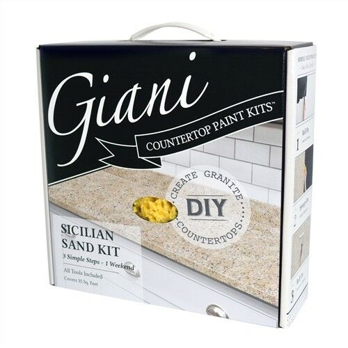 Countertop Paint Kit : GRANITE COUNTERTOP PAINT (Kit Has Everything You Need) eBay