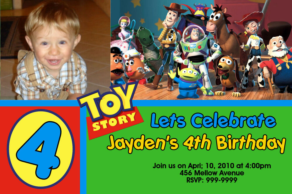 Personalized Toy Story Invitations was amazing invitations template