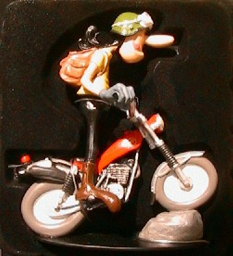 figurine joe bar team edgar debout bike montesa cota ebay. Black Bedroom Furniture Sets. Home Design Ideas