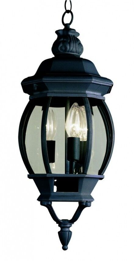 replacement globes for hanging lights trans globe 3 light outdoor hanging pendant lantern 4066 7740