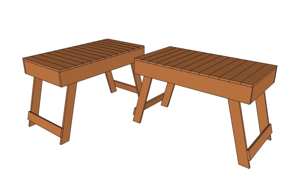 folding picnic table plans