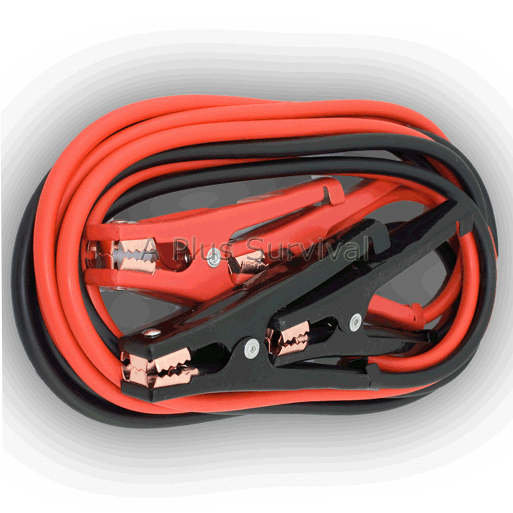 Heavy Duty Automobile Battery Jumper Cables Ebay