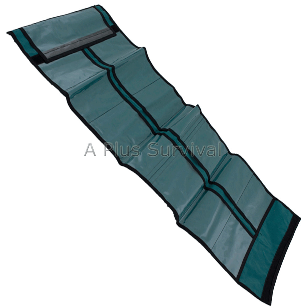 Green Fold Roll Up Sleeve For Survival Kit Supplies Ebay