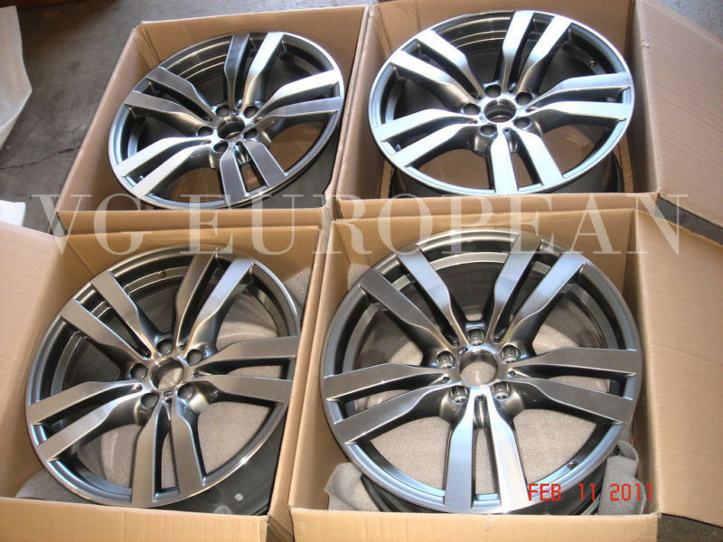 Bmw E71 X6 M Genuine Wheels Wheel Set 20 Quot Style 300 New Ebay