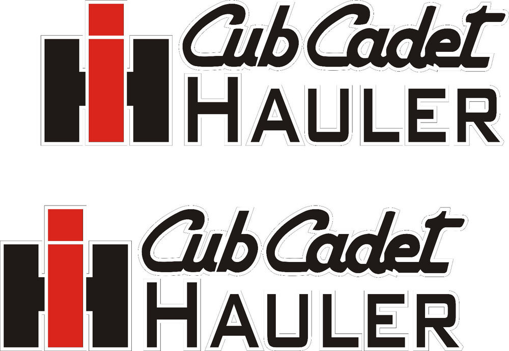Right! piss on cub cadet stickers