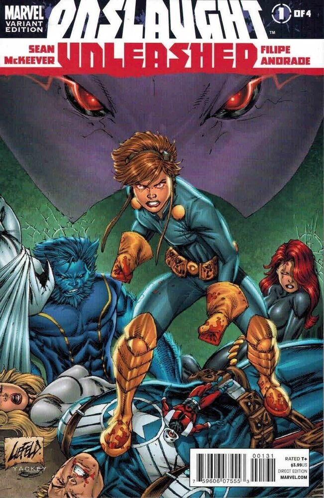 Onslaught Unleashed 1 Rob Liefeld Avengers Variant Ebay