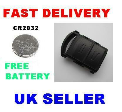 vauxhall corsa 2 button remote key fob case battery ebay. Black Bedroom Furniture Sets. Home Design Ideas