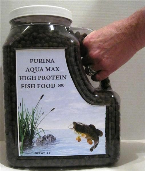 Purina aqua max 600 high protein fish food 5 16 ebay for Purina tropical fish food