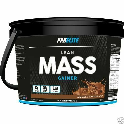 4kg Weight Gainer Proelite Lean Mass Muscle Size Gain Whey