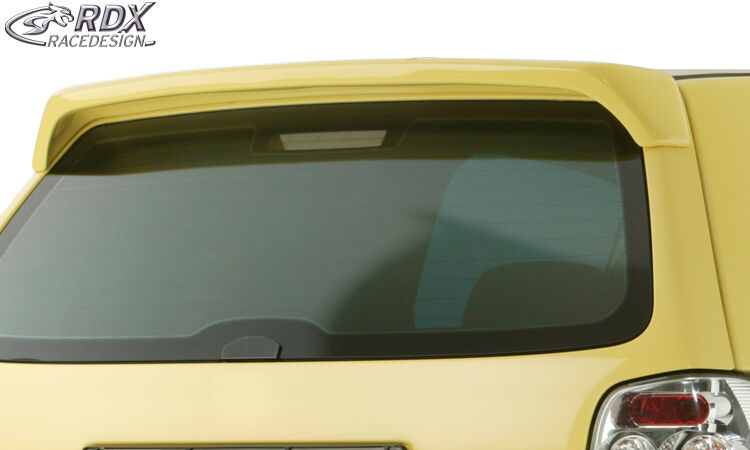 rdx dachspoiler vw polo 6n heckspoiler dachkantenspoiler. Black Bedroom Furniture Sets. Home Design Ideas