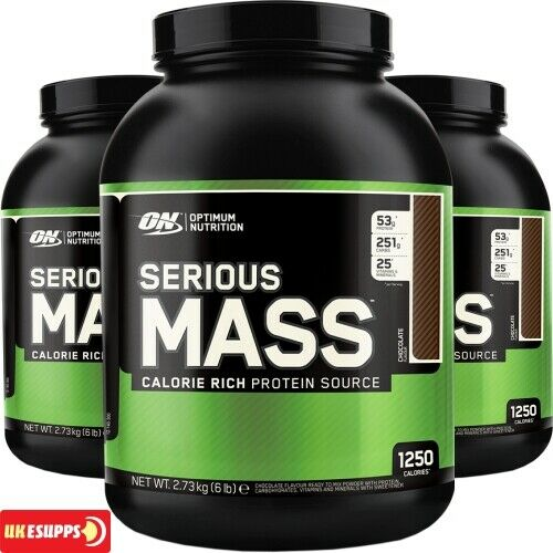 ON Optimum Nutrition Serious Mass 2.7kg 2700g 6lbs Weight