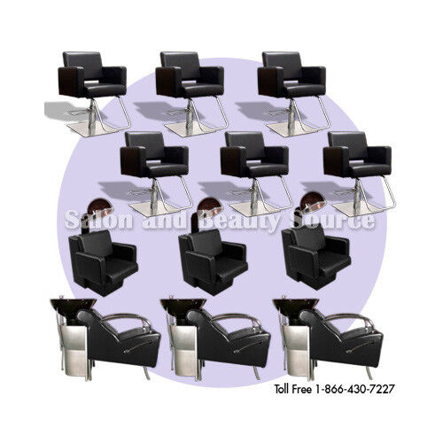 New salon spa package equipment shampoo styling chairs ebay for 365 salon success