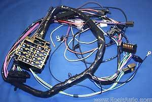 s l1000 1964 67 pontiac gto lemans tempest dash wiring harness ebay  at webbmarketing.co
