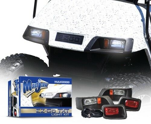 Ezgo golf cart headlight kits pictures to pin on pinterest pinsdaddy new sciox Images