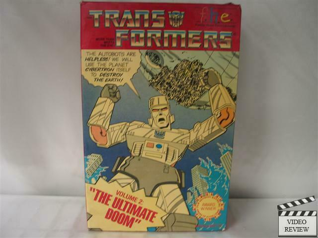 Sell Vhs Tapes >> Transformers Vol. 2 - The Ultimate Doom VHS | eBay