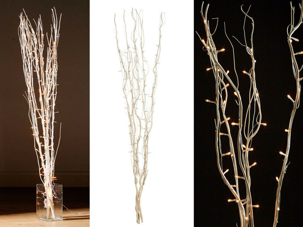 natural white twigs with interwoven branch twig decorative. Black Bedroom Furniture Sets. Home Design Ideas