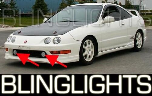 94 01 Acura Integra Jdm Fog Lights Lamps 96 97 98 99 00 Ebay