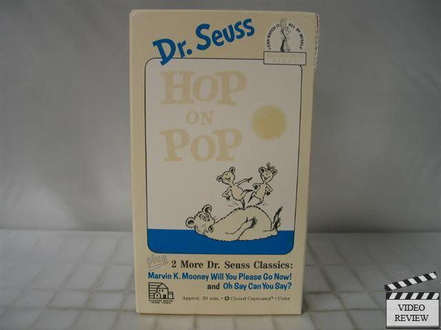 Where Can I Sell My Vhs Tapes >> Hop on Pop VHS Dr. Seuss, Beginner Book Video | eBay
