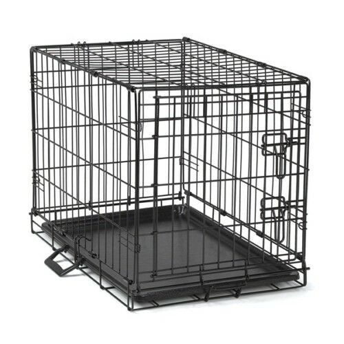 Dog Training Crate Secure Wire Cage For Dogs Medium Size 30 Quot L X 19 Quot W X 22 Quot H Ebay