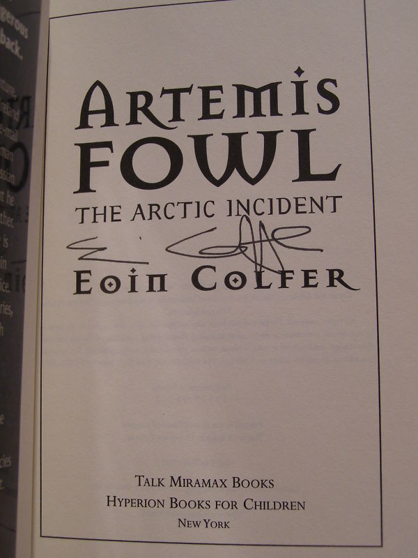 a review of artemis fowl by eoin colfer Artemis fowl and the last guardian | by eoin colfer editorial review e-books the last guardian author : eoin colfer.