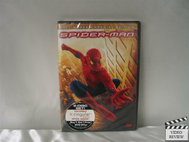 Spider-Man (DVD, 2002, 2-Disc Set, Special Edition F ...