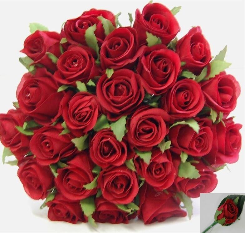 silk rose wedding bouquets silk roses bouquets wedding flowers bouquet 7413