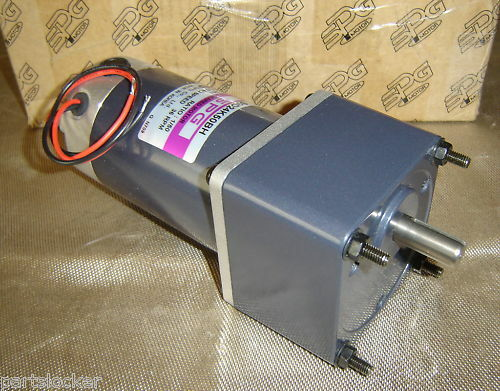 Spg s9d24k50bh dc geared motor gear 24v electric new ebay for Master electric gear motor