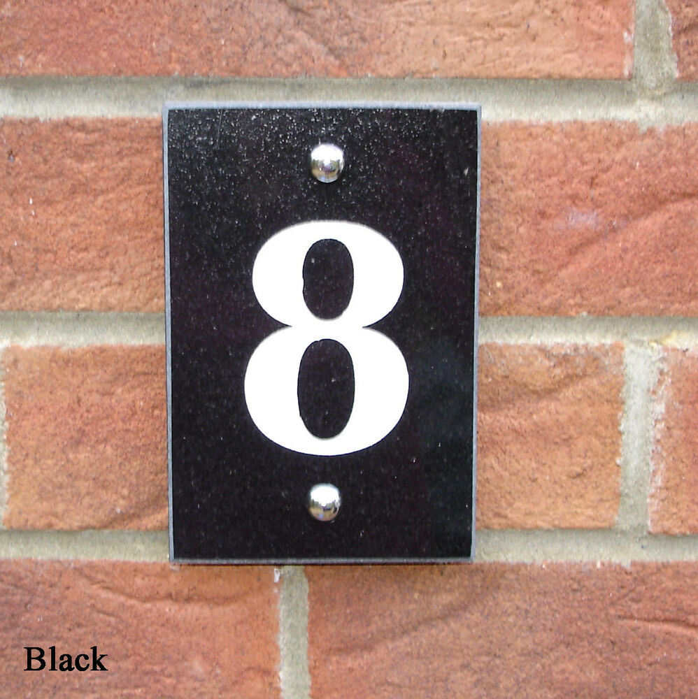 House sign granite door number house name plaque ebay for Door name signs