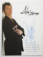 AUTOGRAPH JOEY 'TEN' BERGE NETHERLANDS DART PLAYER