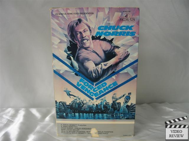 Sell Vhs Tapes >> Forced Vengeance VHS Chuck Norris, Mary Louise Weller | eBay