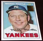 1996 Topps Mickey Mantle Reprint 1967 Topps #150