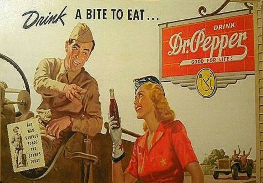 the effectiveness of dr pepper advertisements Marketing strategy of dr pepper/seven up, inc - december 17th, 2010 the merger was a result of the independent bailouts of both companies and the subsequent ftc blockage of a dr pepper merger with coca-cola.