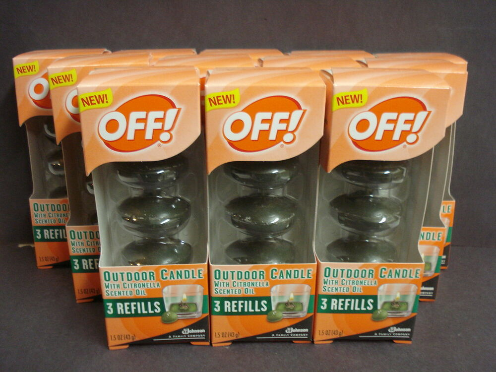 36 Off! Outdoor Candle Refills Citronella Scented Oil | eBay