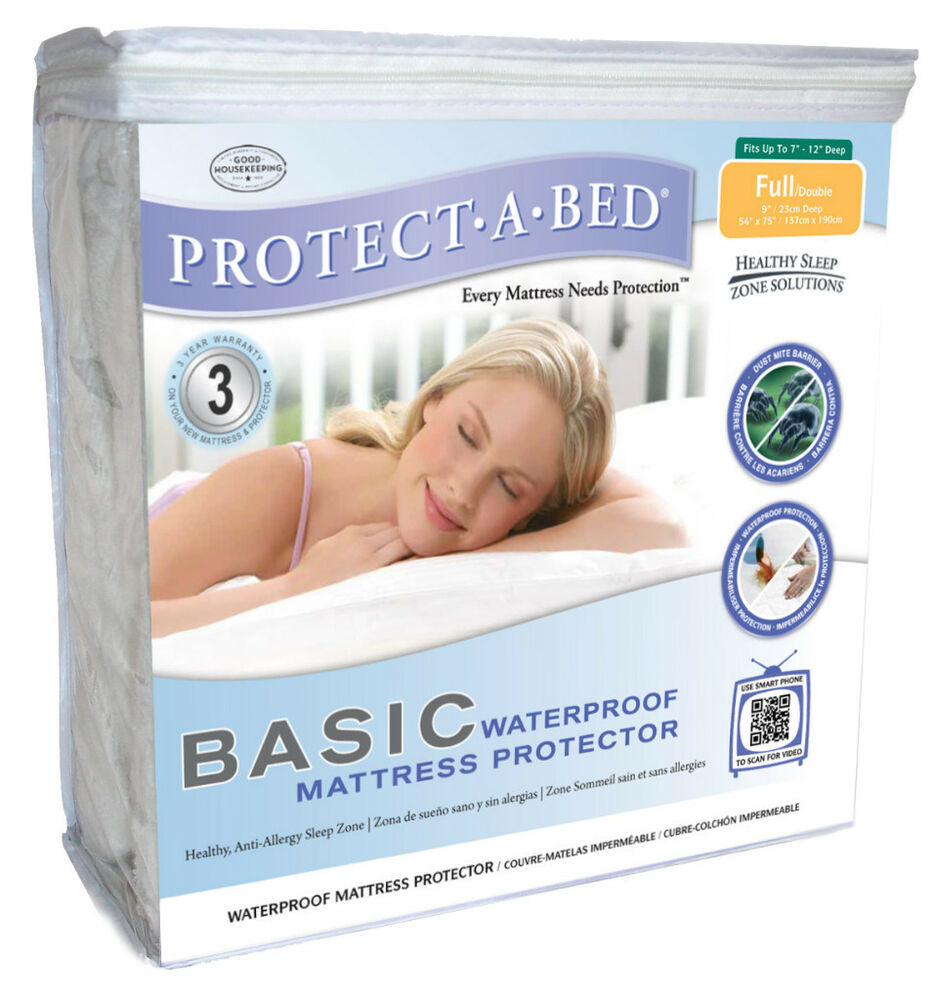 Waterproof Mattress Protector Basic Twin Xl Ebay