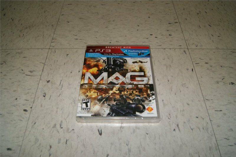 Shooter Games For Ps3 : Mag shooter game ps playstation black label new ebay